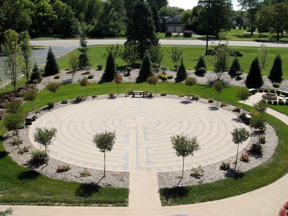 Holy Cross Labyrinth
