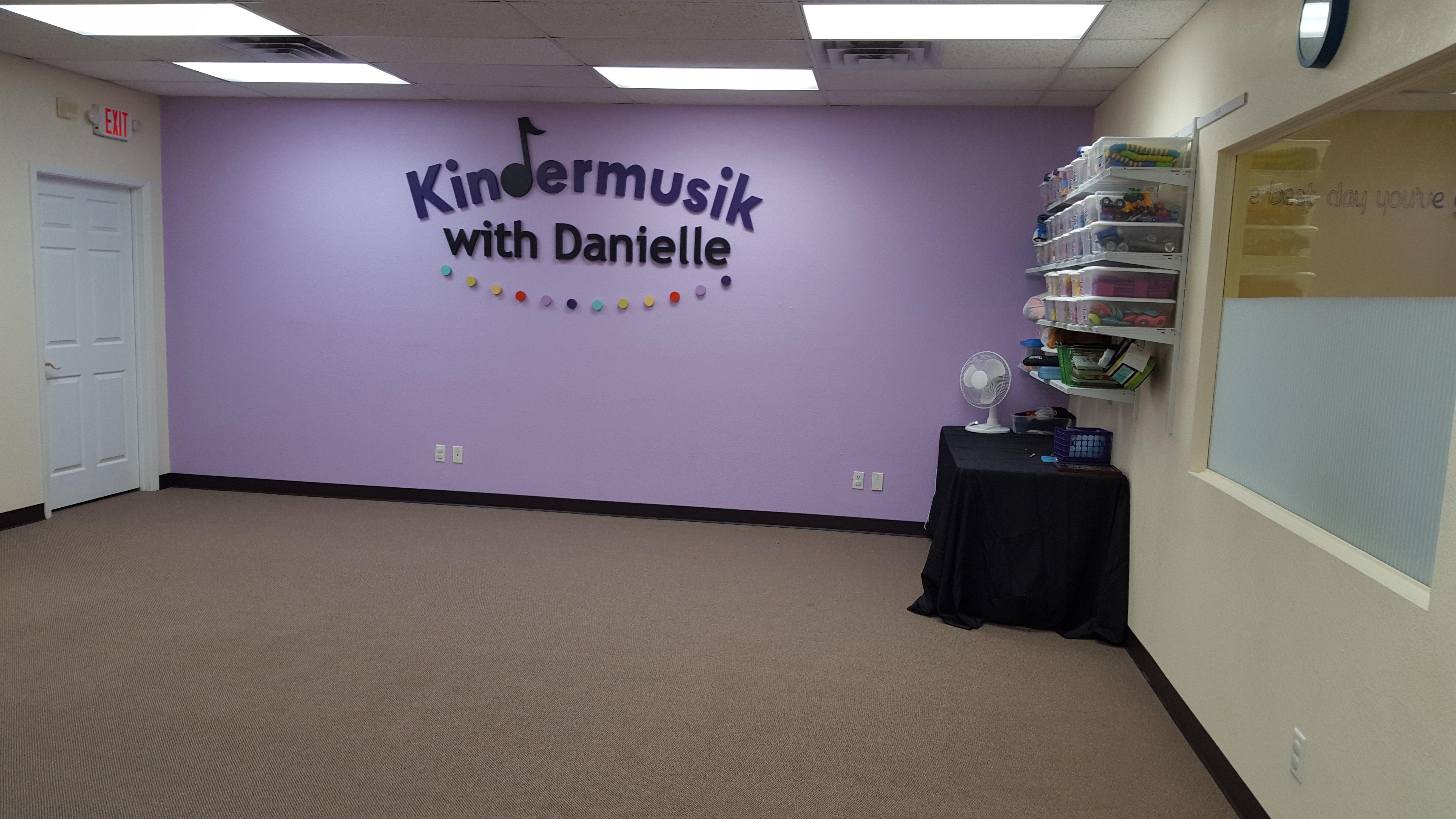Our spacious classroom!